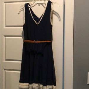 Double Zero navy dress from Urban Outfitters